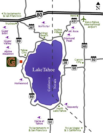 Map of Tahoe